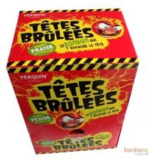 Têtes brûlées fraise - Bonbons acides