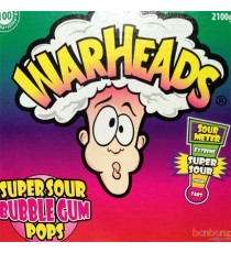 Sucette Mega Warheads + chewing gum