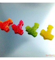 Avions acidulé - bonbons Etna