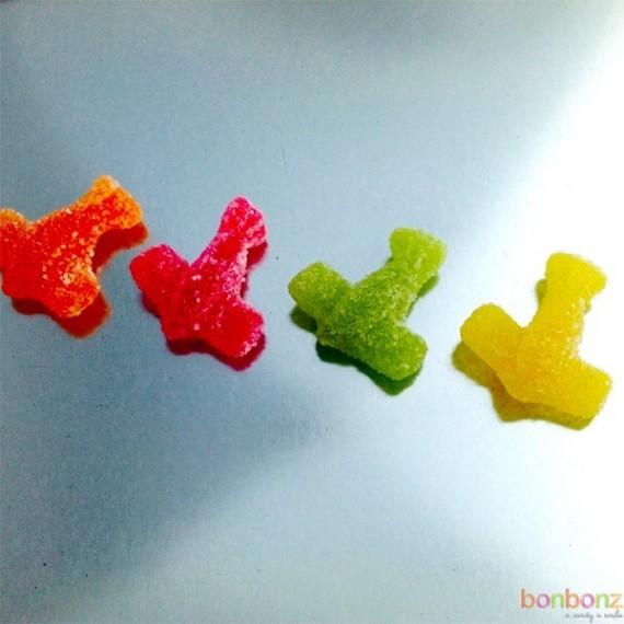 Avions acidulés - bonbons citriques Etna