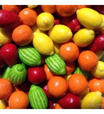 Chewing gum mix aux fruits