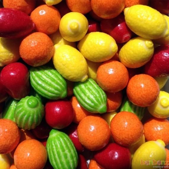 Chewing gum mix aux fruits