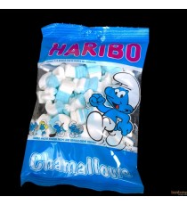 Chamallows Schtroumpfs Haribo - 175 gr.