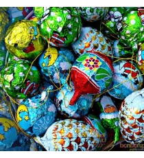 Boules de Noël chocolat