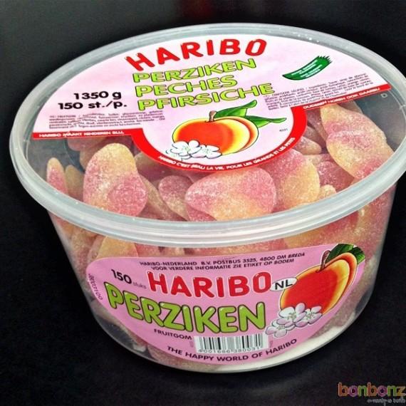 150 bonbons Haribo pêches - 1350 gr.