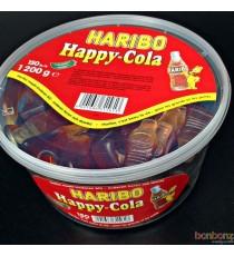 Bonbons Haribo - 150 Happy Cola géants - 1,200 kg