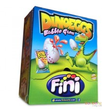 Dino eggs Bubble Gum (coeur liquide) - 20 pieces - Bonbons Fini