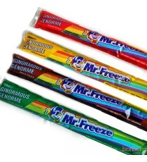 5 glaçons Mr Freeze 50 ml - Cola - fraise - orange - framboise