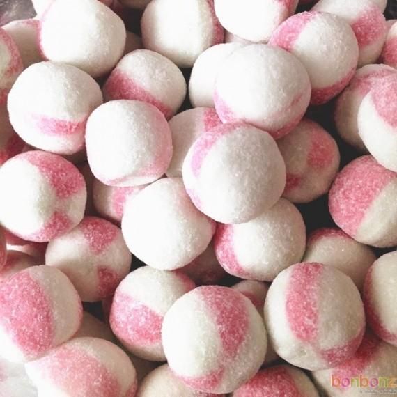 Boules citriques goût fraise