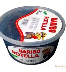 150 Bonbons Haribo Rotella Yo-Yo à la réglisse 1,500 kg