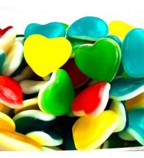 Cœurs multicolores - Bonbons FINI 1Kg