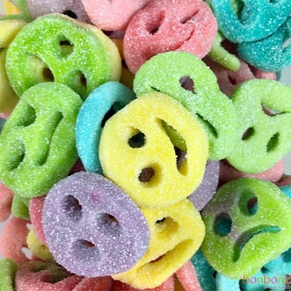 Smiley Fizz, bonbons citriques