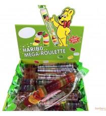 Mega roulettes citriques Haribo - 40 x 45g