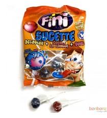 Sucettes acidulées FINI - 80 g.