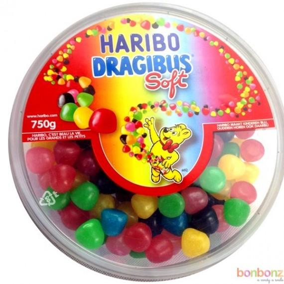 Boîte de Dragibus Soft  - Bonbons Haribo - 750 g