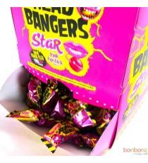 Têtes brûlées Star - Bonbons acides goût framboise