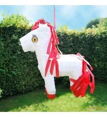 Piñata cheval blanc