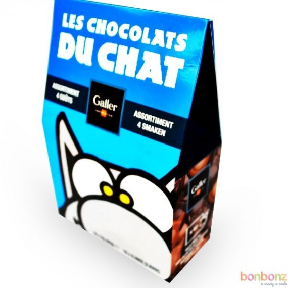 Galler - Les Chocolats du chat - 80g