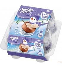 Milka Snow Balls au lait - 4 x 28 g