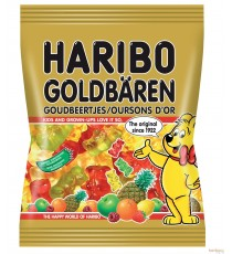 Bonbon Haribo - Ours d'or - 75g