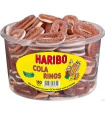 Bonbons citriques Cola Rings Haribo - 150 pc