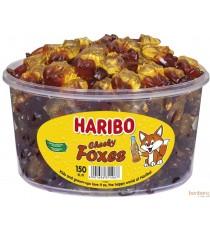 Haribo Cheeky foxes tubo - 150pc