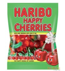 Happy Cherries (Cerises) - 75gr - Bonbons Haribo