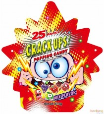 Crack-ups Popping candy - 25 packs