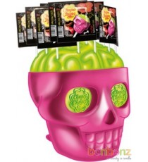 Chupa Chups 3D Skull - Strawberry/lime