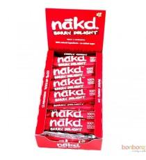 Barre framboise sans sucre ajouté - Nakd - 35g