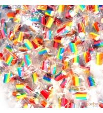 Candy Bites Multicoleur - 500gr - 160 pc (SUR COMMANDE)
