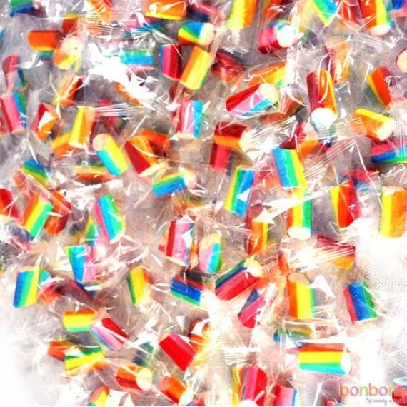 bonbons emballés individuellement Candy Bites fraise