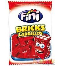 Bricks Ladrillos (briques fraises lisses) - 100 gr - Bonbons FINI