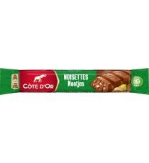 32 bâtons de chocolat Côte d'Or - chocolat lait et noisettes - 45g
