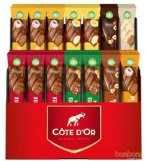 Assortiment de 56 bâtons chocolat Côte d'Or