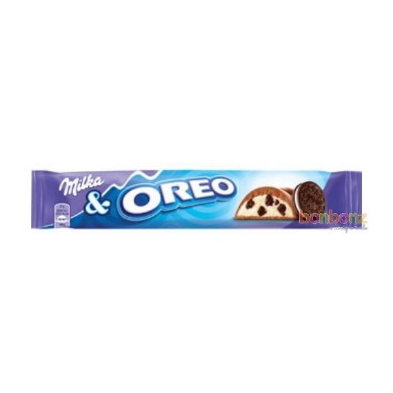 36 Barres  de chocolat Milka Oréo - 36 x 37g.