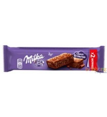 24 Barres Milka  choco brownie - 2p