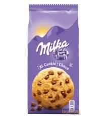 10 sachets de  XL cookies choco Milka 184g.