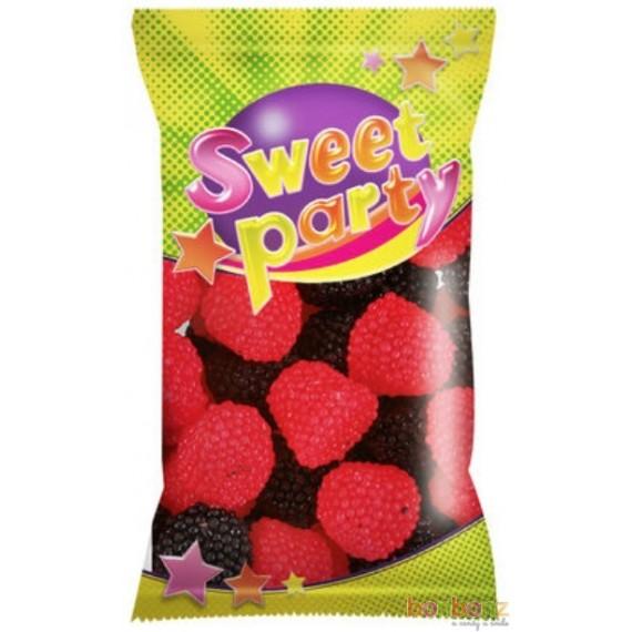 Bonbons framboises et mûres - Sweet Party 100g