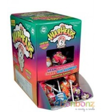 Sucette Mega Warheads + chewing gum - 4 pieces