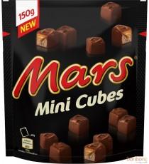 Mars Mini-cubes - 150g x 9 pochettes