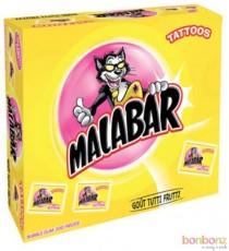 200 Malabar  Tutti Frutti : Chewing gum + tattoos