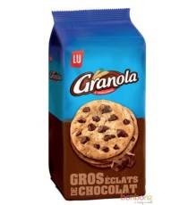 Cookies aux éclats de chocolat Granola de Lu - 10 x 184g