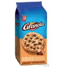 Cookies aux éclats de chocolat et amandes caramélisées Granola de Lu - 10 x 184g