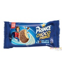 Biscuit Choco Prince Vanille Duo - 20 x 2p - Lu