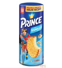 Biscuits Prince fourré vanille LU - 24 x 300g