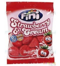 Bonbons Fini - fraises - strawberry and cream - 12 x 75g