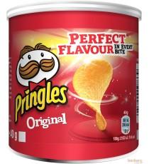 Pringles Original -sel - 12 x 40g