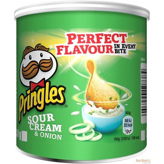 Pringles Sour cream onion- 12 x 40g