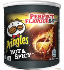 Pringles hot & spicy - 12 x 40g